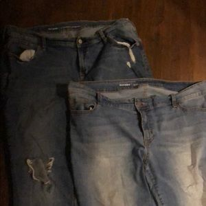 2 pair Old Navy Jeans